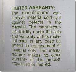 Island 1283 Warranty (Copiar)